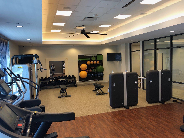 Hotel Gym Workout
